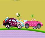 Barbie Car Racing