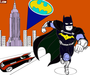 Batman Coloriage
