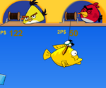 Birds Double Fishing