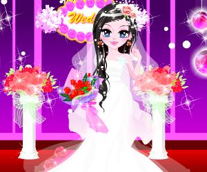 Bling Bling Wedding Dress
