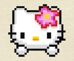 Broderie Hello Kitty