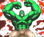Coloriage Hulk