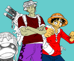 Coloriage One Piece