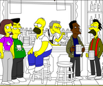 Coloriage Simpson