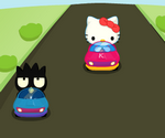 Course De Voiture Hello Kitty