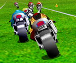 Course Moto Sur Herbe