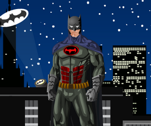 Dark Knight Dress Up