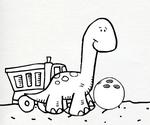 Doodle Dino Bowl