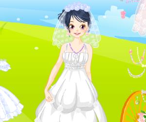 Dreamlike Wedding Dress Up