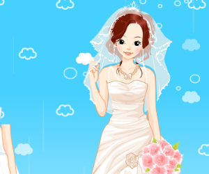 Eloise Wedding Dress Up