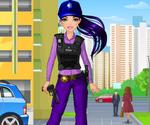 Femme Policier