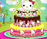 Gateau Hello Kitty