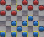 Glass Checkers