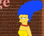 Habillage Marge Simpson