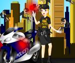 Habillage Policière