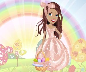 Happy Easter Girl