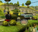 Hidden Object Train