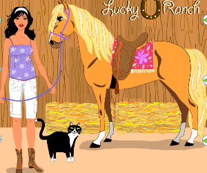 Lucky Ranch Dress Up