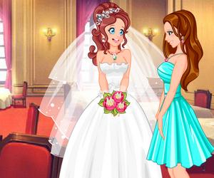 Mariée Et Demoiselle D'honneur