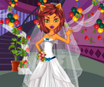 Monster Wedding Dress Up