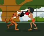 Mowgli Vs Sherkan