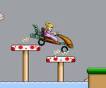 Peach Car Racing