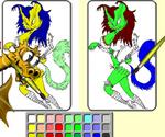 Peinture Dragon