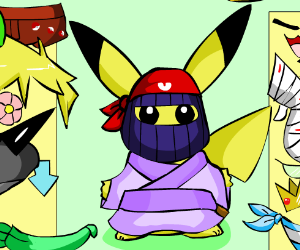 Pikachu Dress Up