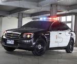 Puzzle De Voiture De Police