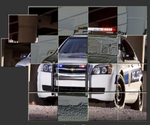 Puzzle Police Cars