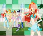 Puzzle Winx Club