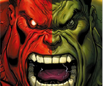 Red Vs Green Hulk