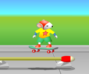 Skate Stuart Little
