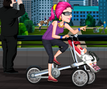 Vélo Poussette