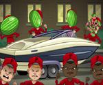 Watermelon Pirate Attack
